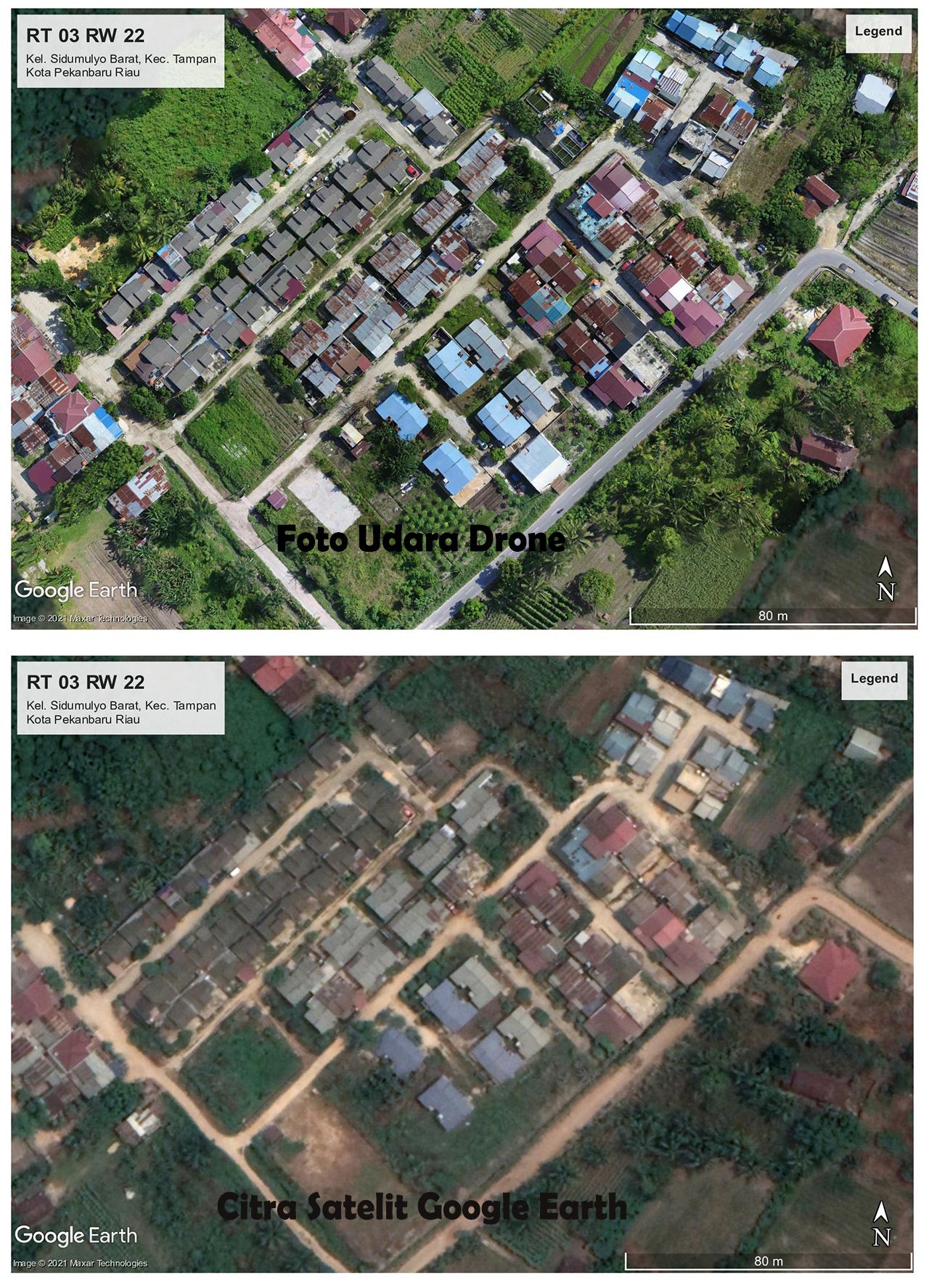 Perbedaan Drone Dengan Google Earth 2