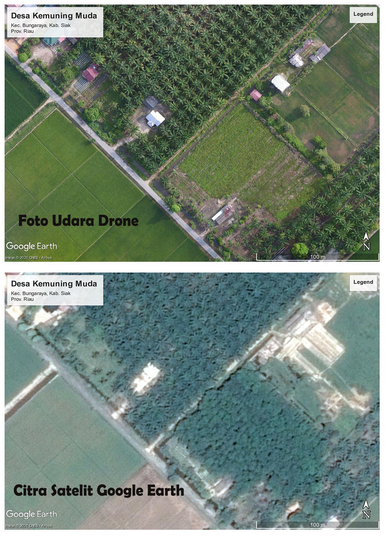 Perbedaan Drone Dengan Google Earth